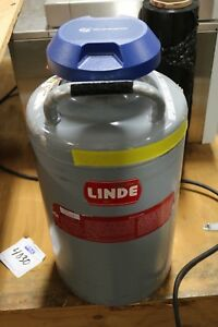 Linde Lr 10 Cryogenic Dewar Nitrogen Tank Container Canister Union Carbide