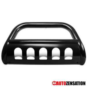 06 08 Dodge Ram 1500 Pickup Black Stainless Steel Bull Bar Grill grille Bumper