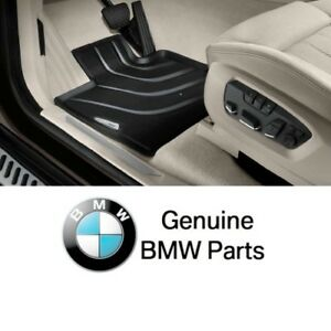 For Bmw F15 X5 F16 Genuine Front All Weather Rubber Floor Mat Set Mats 2014 up