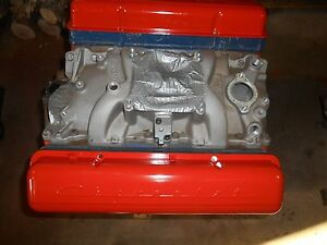 1957 Chevrolet 283 Engine Rebiult With 097 Cam And Roller Lifters 461 Heads