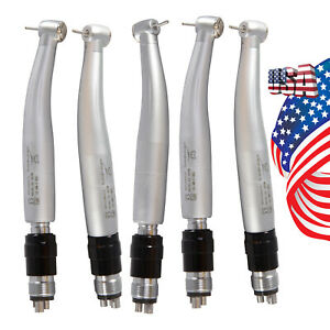 Dental Contra Angle Inner Water Handpiece Fiber Optic Led E generator Low speed