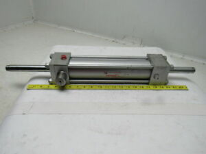 Milwaukee H71d Pneumatic Air Cylinder 2 5 Bore 10 Stroke Double Rod
