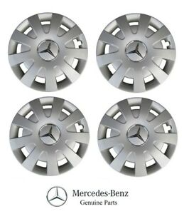 Genuine Mercedes Benz Sprinter 2500 3500 16 Steel Wheel Wdb906 4 Cover Caps