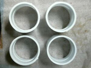 Lot Of 4 Used Nibco 4 Pvc Couplings 4801 Pvc 1 Nsf dwv 60 Day Warranty
