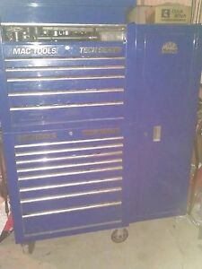 Mac Tools Tech Series Tool Box For Mechanic Use Good Shape