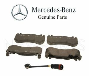 For Mercedes W212 E60 Amg W218 Cls63 Amg Set Of Front Brake Pads W Sensor Oes