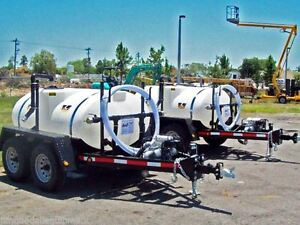 Wylie Water Wagon 500 Gallon Tank 2 Water Pump Adjustable Spray Bar To 25