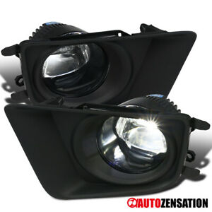 For 12 15 Toyota Tacoma Bright Projector Led Bumper Lamps Driving Fog Lights