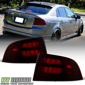 Red Smoke 2004 2005 2006 2007 2008 Acura Tl Type s Tail Lights Lamps Aftermarket