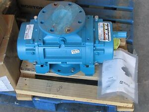 new Tuthill 3208 aar3cv Qx Series Rotary Positive Displacement Blower
