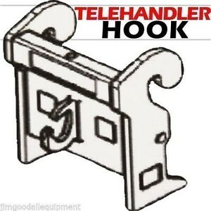 Telehandler Crane Hook Mount With 10 000 Lbs Capacity Fits Jlg G Series