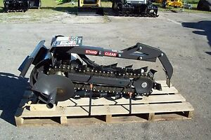Ditch Witch Loader 30 Trencher By Bradco dig 30 X 6 2 Year Warranty