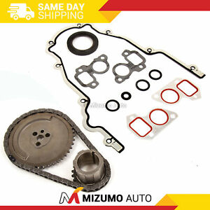 Timing Chain Kit Cover Gasket Fit 97 04 Cadillac Chevrolet Gmc 4 8 5 3 6 0 Ohv