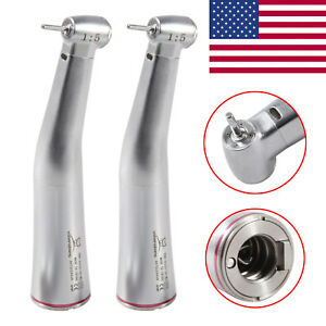2 usa Dental Contra Angle Handpiece Led Optic Internal 4 Spray 1 5 Fit Kavo Nsk