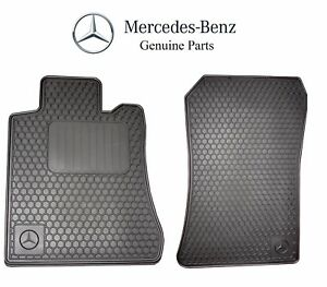 For Mercedes Benz Sl class R129 Black All Season Floor Mats Genuine Bq6680349