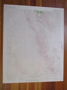 Puertecito Gap New Mexico 1968 Original Vintage Usgs Topo Map