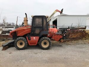 11 Ditch Witch Rt95 Trencher With Cab With Heat And A c