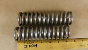 2 Lee Lhc 234t 08s Compression Springs Stainless 234 wire 6 l 1 69 od 113 Lb in