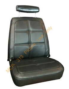 1969 Dodge Charger Seat Covers Front Bucket Rear Back Upholstery Skins