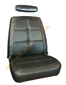 69 Charger Seat Covers Front Bucket Rear Back Upholstery Skins 1969 Dodge
