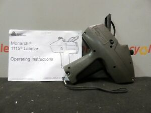 Monarch Labeler 1115 Label Pricing Price Gun