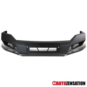 2013 2018 Ram 1500 Black Steel Pickup Front Bumper Guard Truck Replacement