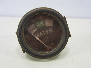 Vintage International Harvester Tractor Water Temperature Gauge
