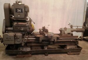 Lodge Shipley Engine Lathe Machine No 36504 No 3a Duomatic 3 Phase