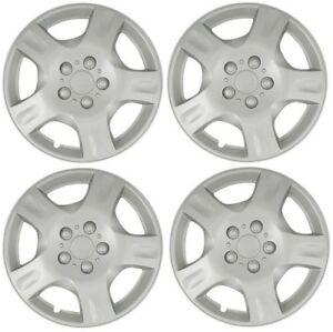 New 16 Hubcap Wheelcover Fits 2002 2004 Nissan Altima Set Of 4 Hubcaps