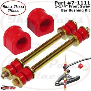 Prothane 7 1111 Front 1 1 4 Sway Bar End Link Bushing Kit 88 99 Chevy gmc