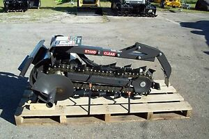 36 Trencher Fits Mini Loaders ditch Witch vermeer toro boxer prowler by Bradco