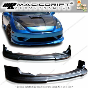 For 03 04 05 Toyota Celica C1 C One Style Pu Front Bumper Chin Spoiler Lip
