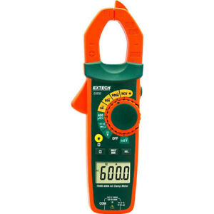 Extech Ma61 True Rms 60a Ac Clamp Meter Ncv