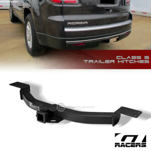 For 2007 2017 Acadia Limited Class 3 Matte Black Trailer Hitch Receiver Tow 2
