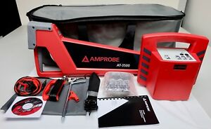 Amprobe At 3500 Underground Wire Tracer Cable Locator With Bag Free Shipping