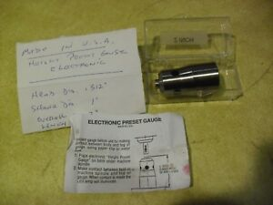 2 Electronic Height Preset Gauge Made In Usa Manufacturer Unknown