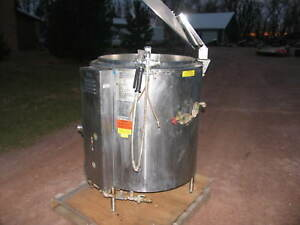 Groen Gas Steam Kettle 60 Gallons Model Ah 1 60 Beer Bbq Chili Pasta Sauce Soup