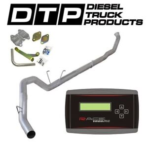 Raceme Jr 4 Exhaust Dpf Delete For Dodge Cummins Diesel 6 7 07 12 Egr