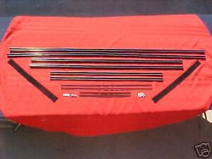 1955 55 56 57 Chevy Nomad Window Fur Channel Kit New