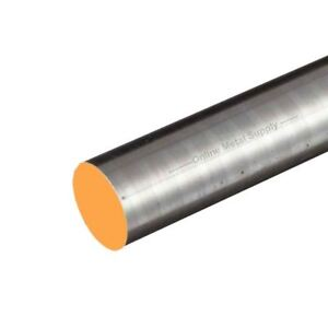 12l14 Steel Round Rod Diameter 2 000 2 Inch Length 36 Inches