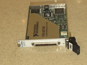 National Instruments Pxi Pxi 6070e Multifunctional I o p7