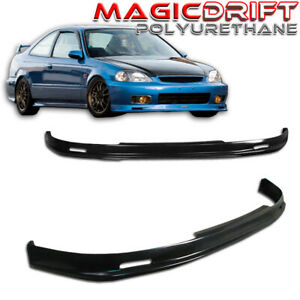 Japan Mugn Front And Rear Bumper Spoiler Lip Honda Civic Combo Pack urethane