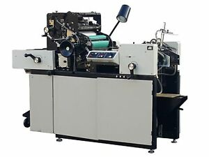 Multigraphics Multi 1650 Xe Off set Printing Press 13 2 196130 omc Pulsair 2000