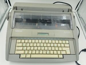Vintage Brother Sx 4000 Electronic Typewriter With Lcd Display Needs Ribbon