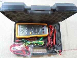 Fluke 233 Remote Display Trms Multimeter Kit Temp Probe Free Case 57700