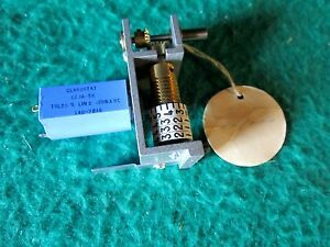Clarostat 62ja 5k Wire Wound Precision Potentiometer With 4 Digit Counterassem