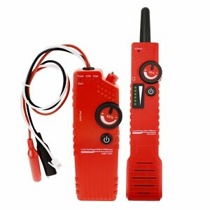 Anti jamming Underground Cable Tracker Detector Tester Low Voltage Wire Locator