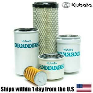 Genuine Oem Kubota L4400 L4600 Hst Tractor Filter Maintenance Kit