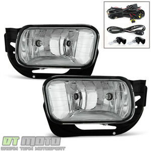 2009 2012 Dodge Ram 1500 10 18 2500 3500 Bumper Fog Lights Lamps W Swith Bulbs