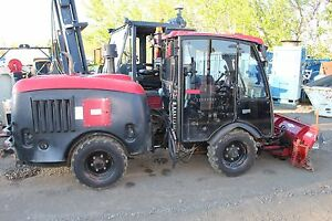 2008 Maclean Mv2 4x4 Articulated Municipal Tractor Plow Diesel Cab Heat A c Cat
